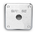 Battery Disconnect Switch Panel Mount - Multiple Finishes Available