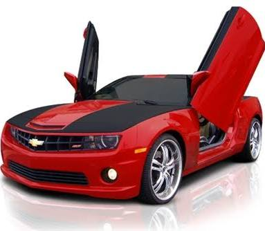 gen 5 camaro 2010 2015 vertical lambo doors modern gen auto. Black Bedroom Furniture Sets. Home Design Ideas