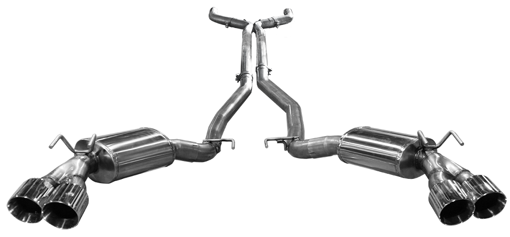 dodge challenger exhaust system