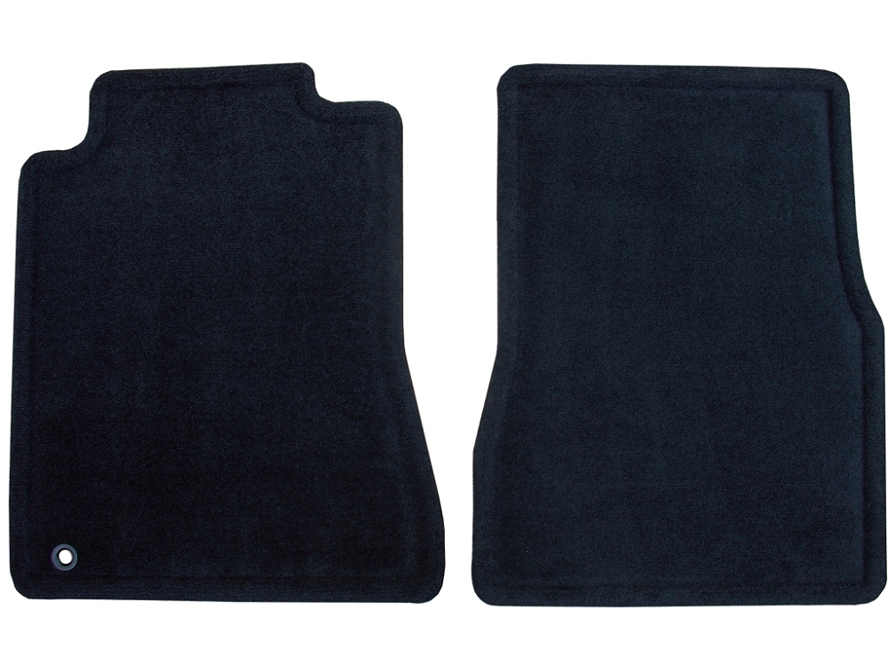 2010 2014 Ford Mustang Front Row Cutpile Floor Mats 2pc