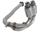 2000-2003 Jeep Wrangler TJ I6 AFE Power Stainless Steel OE Direct Fit Front Catalytic Converter Replacement