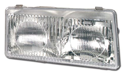 C5 Corvette 1997-2004 Headlight Lens - Side Selection