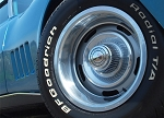 C3 Corvette 1968 Reproduction OE Style Rally Wheel Set