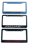 Jaguar Brand Script License Plate Frame - Color/Finish Selections