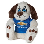 Plush Puppy Toy with Chevrolet Shirt