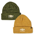Gold Bowtie Heathered Beanie