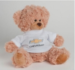 Cooper Bear with Chevrolet Gold Bowtie Sweater