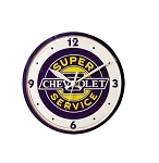 Chevrolet Super Service Wall Clock