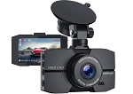 Full HD Black Car DVR Front Dash Cam - 170 Degree Angle - Loop Recording