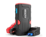 800A Portable Car Jump Starter - Power Bank - LED Flashlight - LCD Screen
