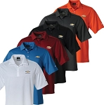 Men's Nike Sport Dri-Fit Polo w/ Embroidered Gold Bowtie Emblem