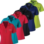 Ladies Ogio Glam Polo w/ Embroidered Bowtie Emblem - Size & Color Options