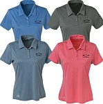 Ladies Heathered Sport Shirt w/ Chevy Bowtie Emblem - Size & Color Options