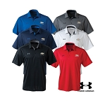 Men's Under Armour Tech Polo w/ Gold Bowtie & Chevrolet Script - Size & Color Options