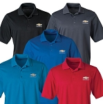 Men's Origin Performance Polo w/ Gold Bowtie & Chevrolet Script - Size & Color Options