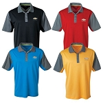 Men's Hybrid Cooler Polo w/ Gold Bowtie & Chevrolet Script - Size & Color Options