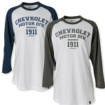 Vintage Chevrolet Long Sleeve Jersey - Size & Color Options