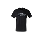 Chevrolet Black Bowtie T-Shirt - Size Options