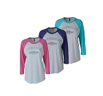 Ladies Chevrolet Baseball T-Shirt - Size & Color Options