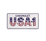 USA-1 Chevrolet License Plates