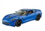 C7 Corvette 2014-2019 Stingray/Z51 Die Cast Model - 1:18 Scale - Blue