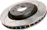 C5 Corvette 1997-2004 DBA Rear T3 4000 Series Uni-Directional Slotted Rotor