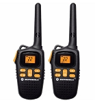 Motorola 20-Mile Range 22 Channel 2-Way Radios - Pair
