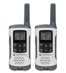 Motorola Talkabout 25-Mile Range 22 Channel 2-Way Radios - White - Pair