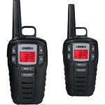 Uniden 30-Mile 22-Channel 2-Way Radios - Black
