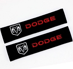 Dodge Seat Belt Cover Shoulder Pads