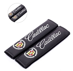 Cadillac Carbon Fiber Seat Belt Shoulder Pads - Set of 2