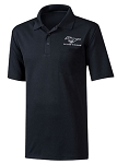 2005-2015+ Ford Mustang Staycool Polo w/ Mustang Logo & Script - Black