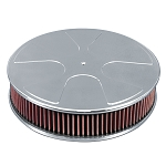 C2 C3 Corvette 1963-1982 Wheel Style Top 14in Air Cleaner - Multiple Finishes Available