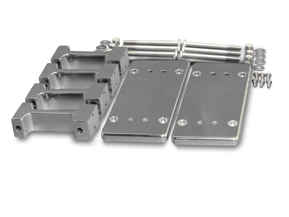 C6 C7 Corvette 2005-2019 Billet Aluminum LS Series Coil Relocation Mount with Brackets for Aftermarket IGN-1A Coils
