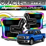 2015-2017 Ford Raptor Oracle Dynamic ColorShift DRL Halo Kit