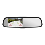 Momento R1 Rearview Mirror - 4.3in w/ Ghost LCD