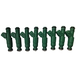C4 C5 Corvette 1985-2004 Green Giant Fuel Injectors - 42lb/hour - Set of 8