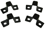 C2 Corvette 1963-1966 Seat Mount Brackets - Rear - 4pc Set