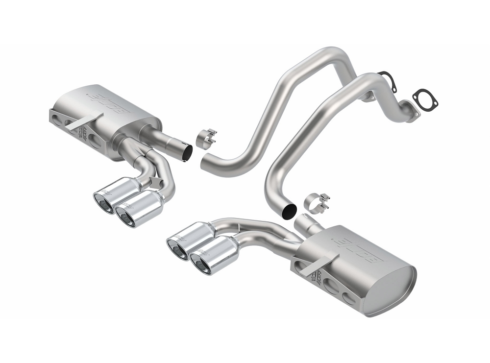 C5 Corvette 1997-2004 Borla Cat-Back Exhaust System - Touring