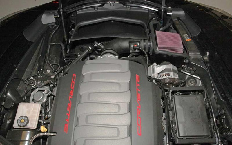 Auto Touch Up Paint >> C7 Corvette Stingray/Grand Sport 2014+ K&N Cold Air Intake ...