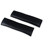 Carbon Fiber Seat Belt Shoulder Pads