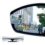 Adjustable Slim Square Blind Spot Mirrors - Set of 2