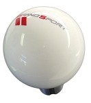 C6 Corvette Grand Sport 2010-2013 White Shift Knob w/ Grand Sport Logo