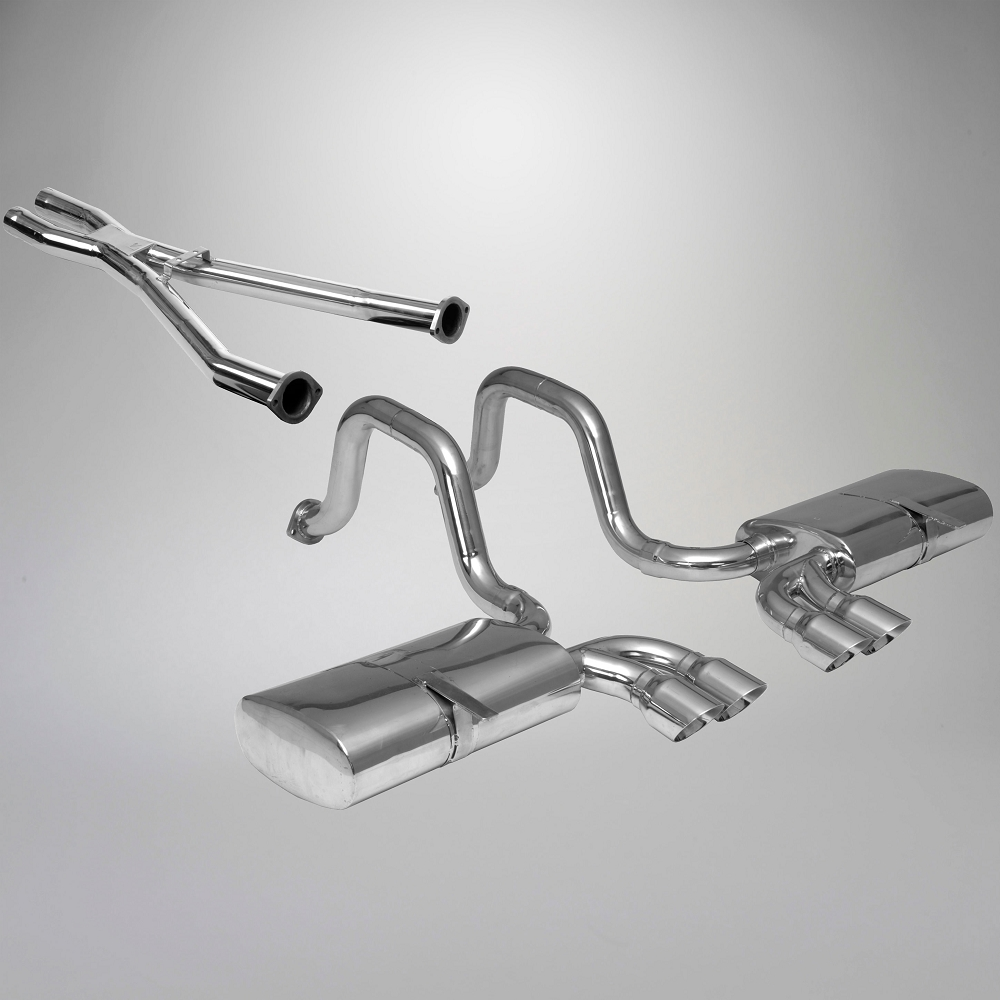 C5 Corvette 1997-2004 Quad Cruiser Cat-Back Exhaust & X-Pipe Combo