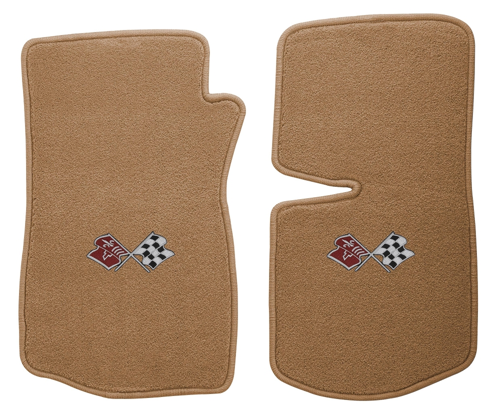 C3 Corvette 1969 1982 Floor Mats With Embroidered Emblems
