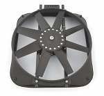 Chevrolet Bowtie Proform 15in High Performance Electric Fan w/ Thermostat