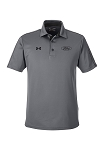 Ford Under Armour Mens Tech Stripe Polo - Gray