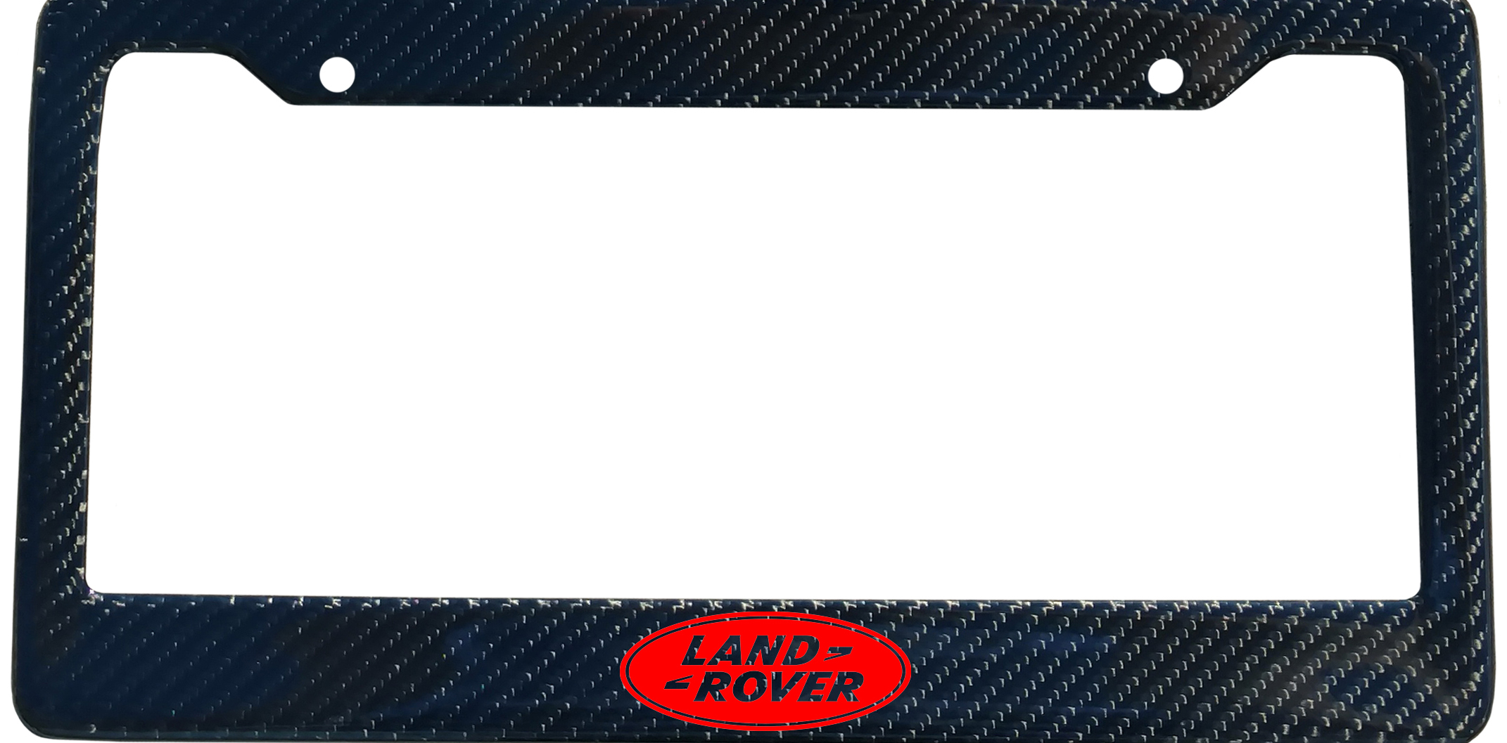 Land Rover Brand Script License Plate Frame Color Finish