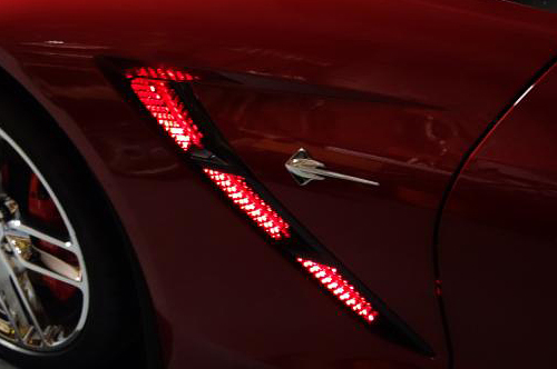 C7 Corvette Stingray Z06 Grand Sport 2014 Led Strip