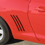 Gen 5 Camaro 2010-2013 Side Fender Gill Decals